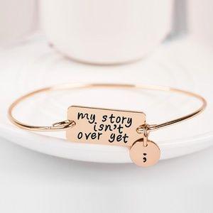 New! Vintage My Story Rose Gold Charm Bracelet